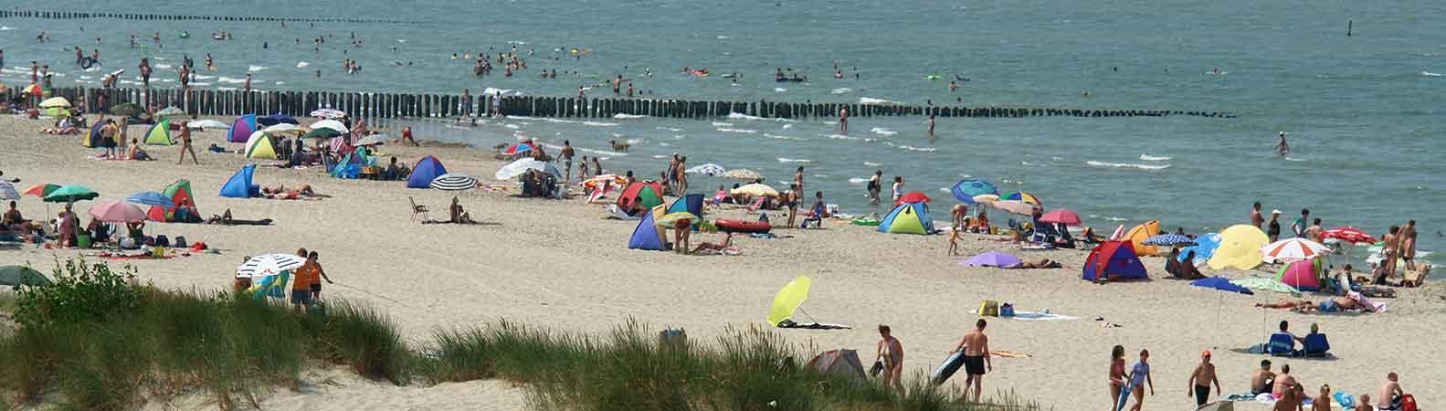 La plage Pays-Bas